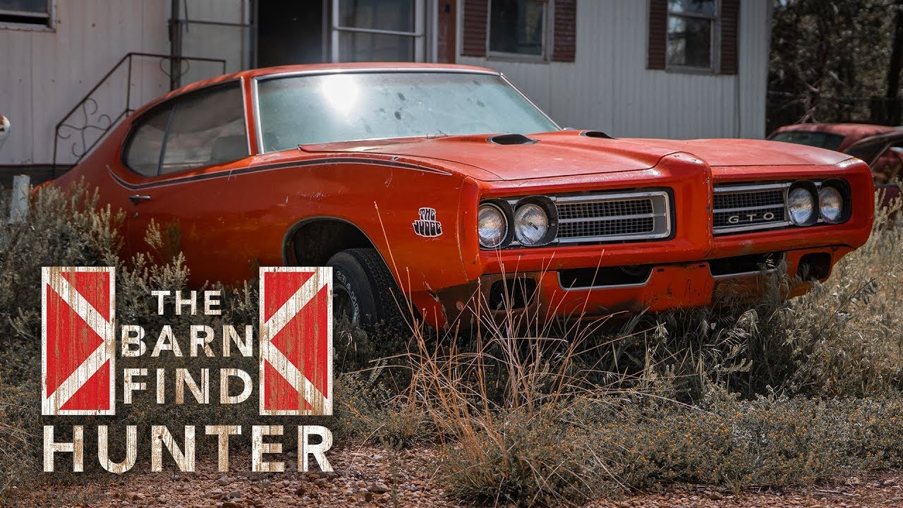 After four years on the trail, Barn Find Hunter finally uncovers a Judge