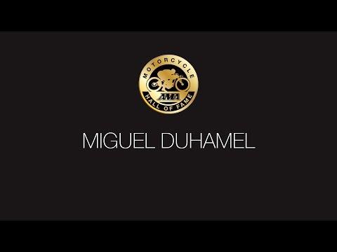 Miguel Duhamel Presentation and Acceptance Speech