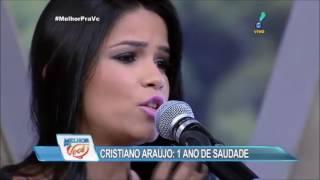"""Kat'z - Homenagem Cristiano Araújo """"1 ano de saudade"""" (Programa Melhor Pra Você)"""