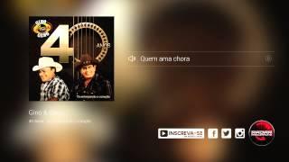Gino e Geno -  Quem ama chora (álbum Gino e Geno 40 Anos) Oficial