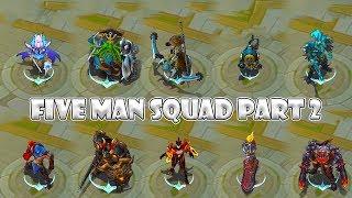 Mobile Legends 5 Man Squad Part 2