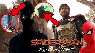 Spider-Man Far From Home OFFICIAL Trailer Breakdown! & Avengers 4 Endgame EASTER EGGS!