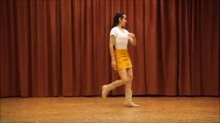 Gypsy Queen - Choreo by Hazel Pace -Line Dance demo - Fun Living Toronto - Line Dance Toronto