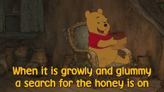 Winnie the Pooh - The Tummy Song (Sing Along Lyrics)