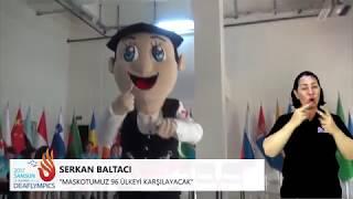 Türkiye'nin Konuşabilen İlk Maskotu Çakır, Gönüllülere İşaret Dili Öğretti | #Deaflympics2017