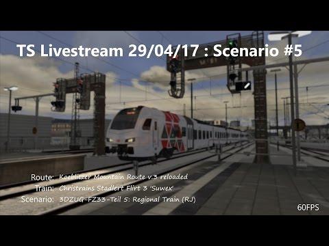 3DZUG-FZ33-Teil 5: Regional Train (RJ) (Livestream 29/04/17)