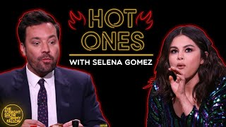 Selena Gomez and Jimmy Cry While Eating Spicy Wings (Hot Ones)