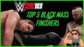 Top 5 Black Mass finishers in WWE 2K18