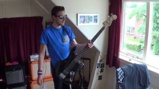 The Offspring - Want You Bad (Bass Cover) HD #38 First Bass Cover!