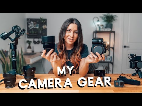 What's in my CAMERA BAG? | My Travel Filmmaking Gear