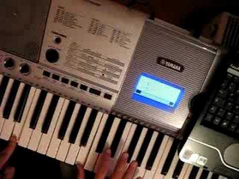 Comment jouer On s'attache de Christophe Maé au piano