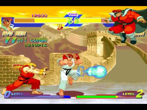 Street Fighter Alpha: Warriors' Dreams (aka Street Fighter Zero) (Team) (Capcom) (Windows) [1997]