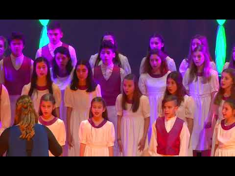 You raise me up, Corfu Children's Choir - YouTube