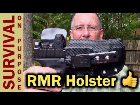 HAWG Holsters Glock MOS RMR Holster - IWB Red Dot Pistol Holster