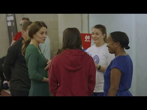 HRH THE DUCHESS OF CAMBRIDGE CELEBRATES PARENT POWER WITH SPORTSAID