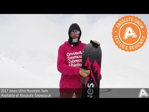 2016 / 2017 | Jones Ultra Mountain Twin Snowboard | Video Review