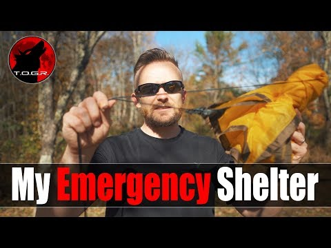 The Emergency Outdoor Shelter That I Carry
