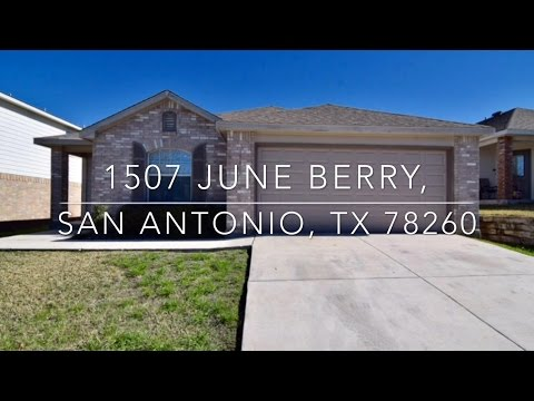 1507 June Berry, San Antonio TX 78260