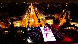Dj Snake dropping Sikdope at Arc de Triomphe in Paris