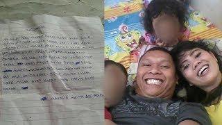Sebelum Tewas, Anak Korban Pembunuhan di Bekasi Tulis Surat: Mama Papa Maafin Kakak Sudah Buat Marah