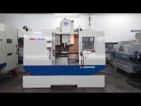 Daewoo Doosan DMV-3016D CNC Vertical Machining Center For Sale At Machinesused.com