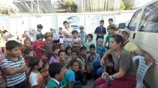 Debora Vezzani - Come un Prodigio live in Kilis (Agosto 2014)
