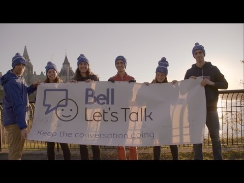 Bell Let's Talk and student-athletes across Canada team up for mental health