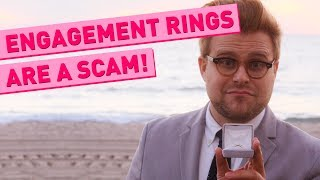 Why Engagement Rings Are a Scam - Adam Ruins Everything width=