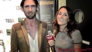 Tyson Ritter at the Lyme Light Benefit Concert @RejectsAAR #AllAmericanRejects @tysonritter