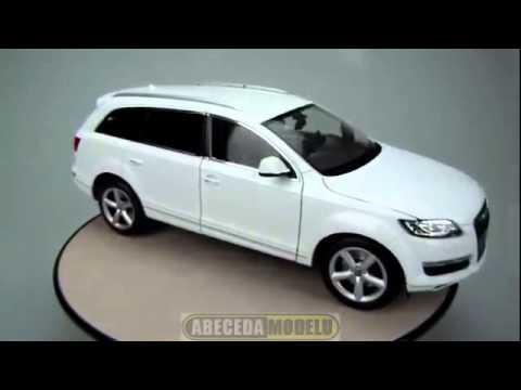 18032 Welly Игрушка модель машины Audi Q7- Детки Тойс интернет магазин игрушек