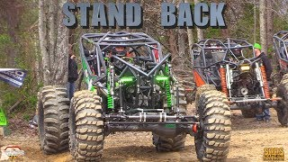 "TIM CAMERON IN HIS 1400 HP ROCK RACING MONSTER ""STAND BACK"" WINS SRRS AT WINDROCK OFFROAD PARK"