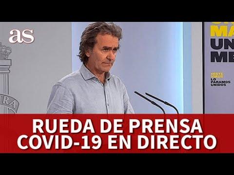 EN DIRECTO I Rueda de prensa CORONAVIRUS I Diario AS