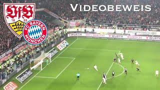VfB Stuttgart vs. FC Bayern München - Videobeweis - Elfmeter gehalten von Ulreich i.d. Nachspielzeit