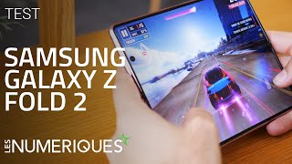 vidéo test Samsung Galaxy Z Fold 2 par Les Numeriques