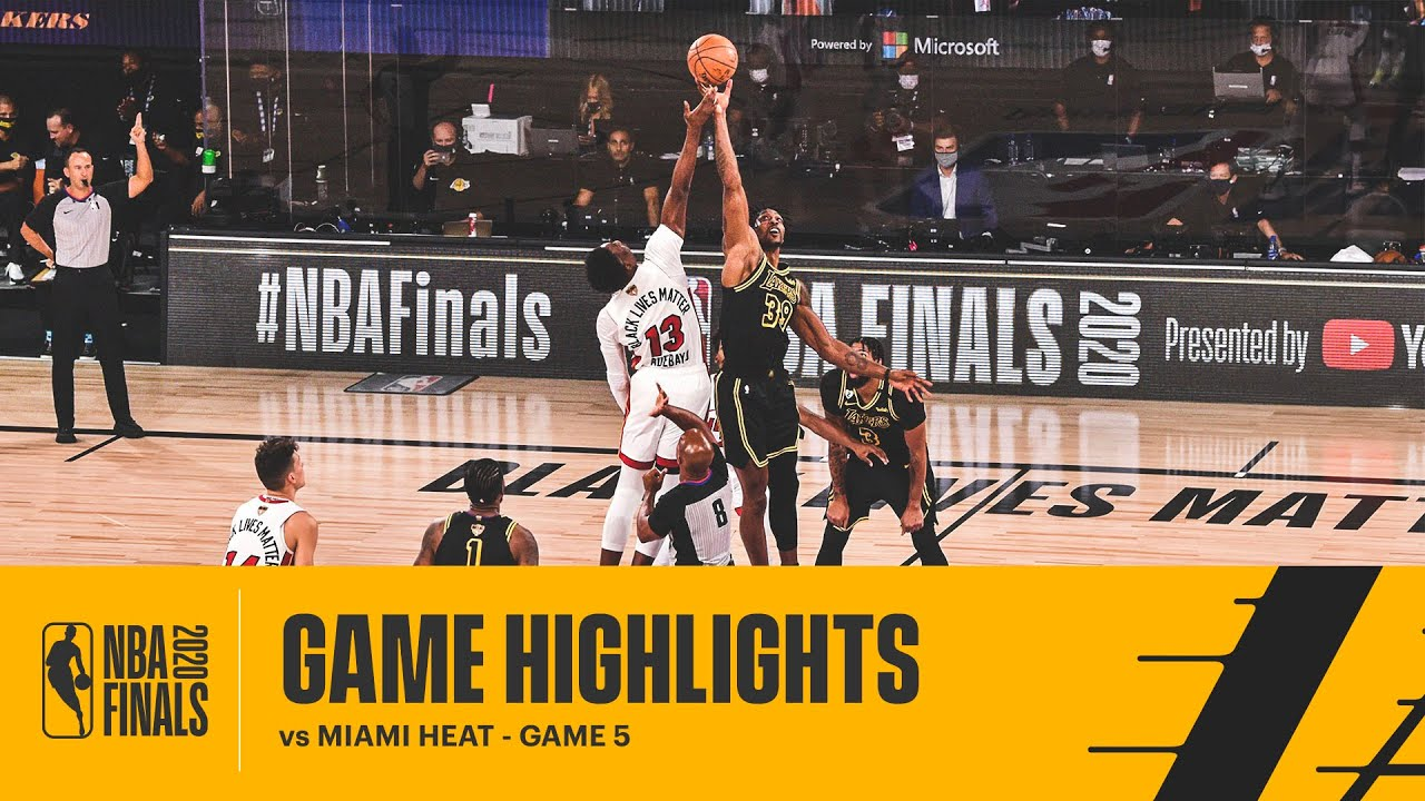 Los Angeles Lakers v Miami Heat – Game 5