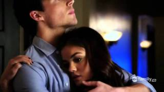 Aria and Ezra Pretty Little Liars (Just A Kiss- Lady Antebellum)