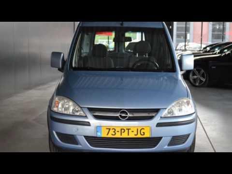 Opel Tour 1.6 MAXX Airco Schuifdeur Licht metaal 117dkm Inru