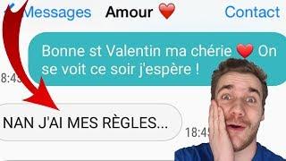 LES PIRES SMS DE SAINT VALENTIN !