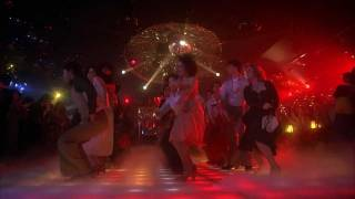 "Saturday Night Fever | Bee Gees - ""Night Fever"" dance montage (HD)"