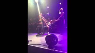 Ciara Jackie Tour Lap Dance - I Run It (LA Club Nokia)