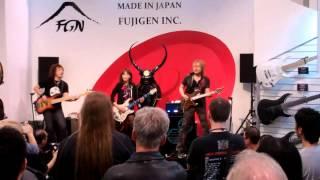 Japanese Band Rockin @ NAMM SHOW 2013
