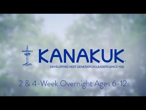 Kanakuk 2 and 4 Week Overnight Camp ages 6-12