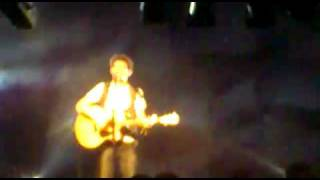 THE SCRIPT THE FIRST TIME LIVE