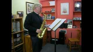 Bach Bouree Anglais Solo Sonata in A minorfor transc. saxophone