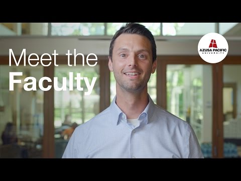 Meet the Faculty: Ryan Montague, Ph.D.