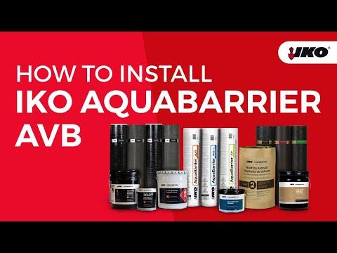 IKO Commercial Training Video AquaBarrier AVB Installation En