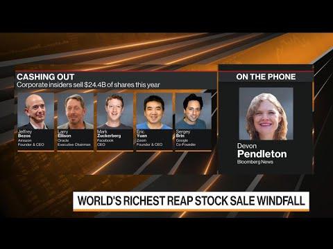 World's Richest Reap Stock Sale Windfall