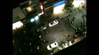 Manifestation étudiante Montréal 25/04/12