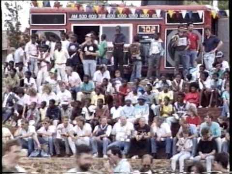 Toy Run Johannesburg December 1989