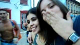 Sangalo e Dy - Carnaval 2011 - Foto com os Bombados !